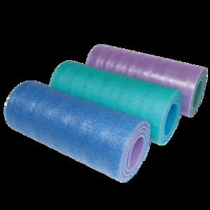 Karimatka YATE dvouvrstvá 12 SOFT FOAM modrá,zelená,růžová, Yate