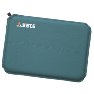 Samonafukovací sedátko YATE zelená/šedá 43x30x3.1 cm, Yate