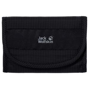 Peneženka JACK WOLFSKIN Cashbag Wallet Rfid černá, Jack Wolfskin