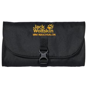 Taštička JACK WOLFSKIN Mini Waschsalon černá, Jack Wolfskin