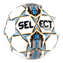 Fotbalový míč Select FB Brillant Replica bílo modrá, Select