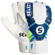 Brankářské rukavice Select Goalkeeper gloves 03 Youth modro bílá, Select