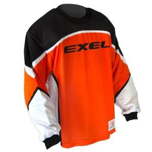 Golmanský dres EXEL S60 GOALIE JERSEY junior orange/black, Exel