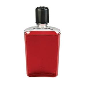Láhev Nalgene Flask Red with Black Cap, Nalgene