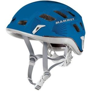 Horolezecká helma Mammut Rock Rider 56-61cm šedá/modrá, Mammut