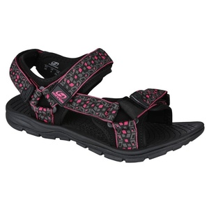 Sandály HANNAH Feet Black/Red, Hannah
