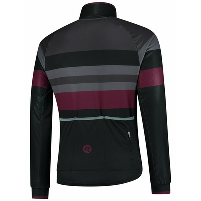 Ultralehká cyklistická bunda Rogelli PEAK, černo-šedo-vínová 003.036, Rogelli