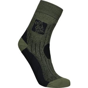 Kompresní sportovní ponožky NORDBLANC Starch NBSX16379_KHM, Nordblanc