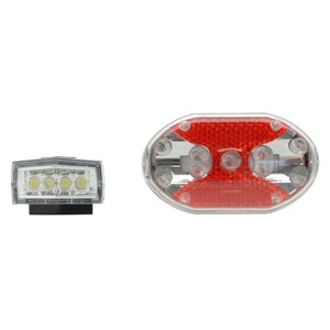 Cyklosvětlo Compass Front&Back 1+1 (4+9LED), Compass