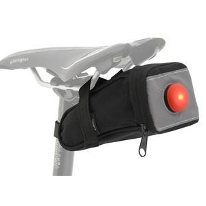 Cyklotaška pod sedlo se zadním LED světlem Compass