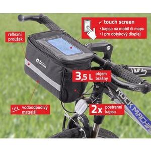 Cyklotaška na řídítka Compass, Compass