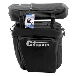 Cyklotaška na zadní nosič Compass 3in1, Compass