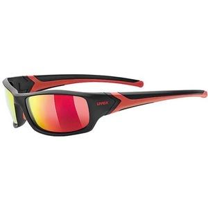 Sportovní brýle Uvex Sportstyle 211 Polavision, black/mir. red (2230), Uvex