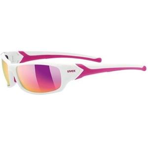 Sportovní brýle Uvex Sportstyle 211 white pink (8316), Uvex
