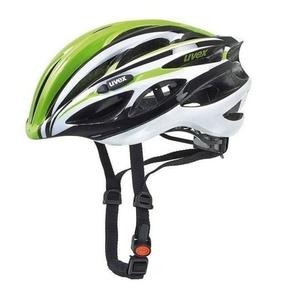Cyklistická helma Uvex 18 Race 1, green-white, Uvex