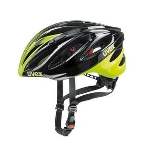 Helma Uvex Boss Race, black-neon yellow, Uvex