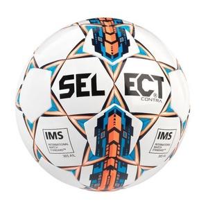 Fotbalový míč Select FB Contra bílá oranžová, Select
