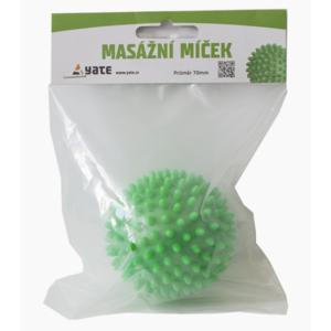 Masážní míček Yate 70 mm zelený, Yate