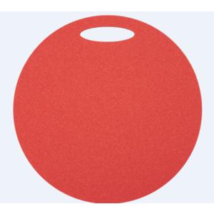 Sedátko Yate kulaté 1 vrstvé průměr 350 mm červené, Yate