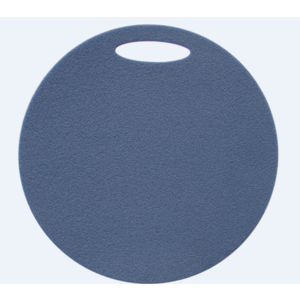 Sedátko Yate kulaté 2 vrstvé průměr 350 mm modrá/růžová, Yate