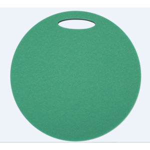 Sedátko Yate kulaté 2 vrstvé průměr 350 mm zelená/černá, Yate