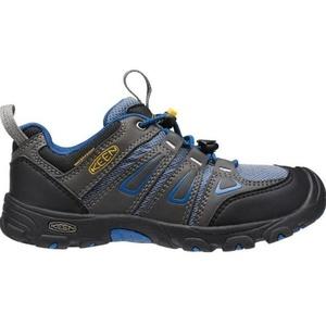 Dětské boty Keen OAKRIDGE LOW WP JR, magnet/true blue, Keen