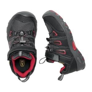 Dětské boty Keen OAKRIDGE LOW WP K, black/tango, Keen