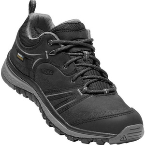 Dámské boty Keen Terradora Leather WP W, black/steel grey, Keen