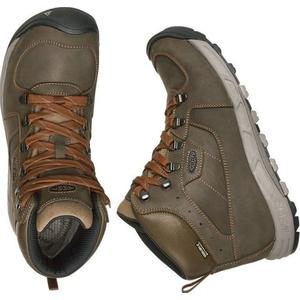 Pánské boty Keen Westward MID Leather WP M, dark olive/rust, Keen