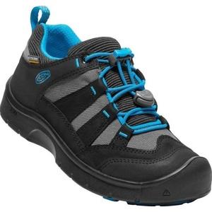 Dětské boty Keen Hikeport WP Jr, black/blue jewel, Keen