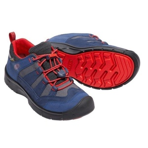 Dětské boty Keen Hikeport WP Jr, dress blues/firey red, Keen
