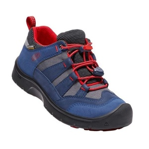 Dětské boty Keen Hikeport WP Jr, dress blues/firey red, Keen