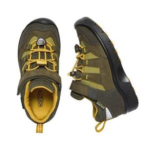 Dětské boty Keen Hikeport WP K, dark olive/citrus, Keen