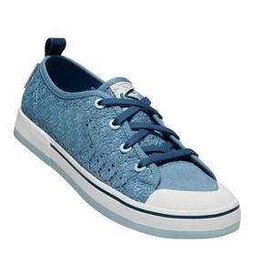 Dámské boty Keen Elsa II Sneaker Crochet W,  provincial blue/sterling blue, Keen