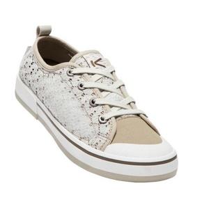 Dámské boty Keen Elsa II Sneaker Crochet W,  silver birch/canteen, Keen