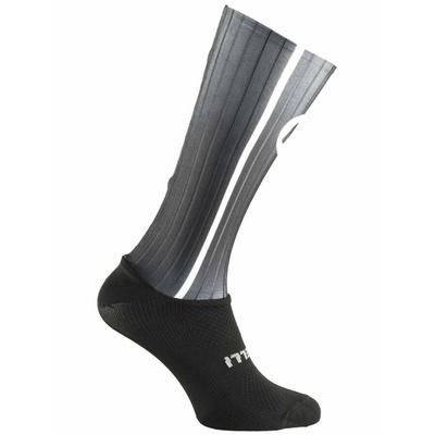 Aerodynamické funkční ponožky Rogelli AERO, černo-šedé 007.004, Rogelli