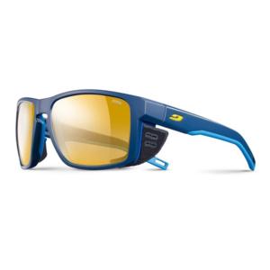 Sluneční brýle Julbo SHIELD Zebra blue/blue/yellow, Julbo