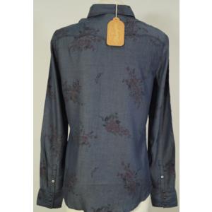 Košile Wrangler Sammy western Dress blue, Wrangler