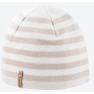 Pletená Merino čepice Kama A122 101 přírodně bílá, Kama