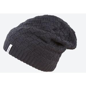 Pletená Merino čepice Kama A123 110 černá, Kama