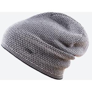 Pletená Merino čepice Kama A125 111 tmavě šedá, Kama