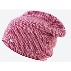 Pletená Merino čepice Kama A125 104 červená, Kama