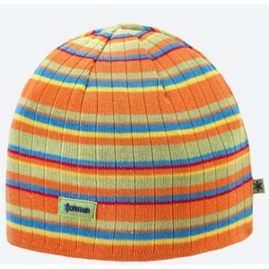 Pletená Merino čepice Kama A129 103 oranžová, Kama