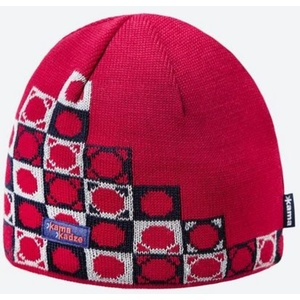 Pletená Merino čepice Kama K57 104 červená, Kama