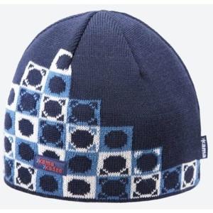 Pletená Merino čepice Kama K57 108 tmavě modrá, Kama