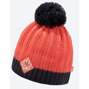 Pletená Merino čepice Kama K59 103 oranžová, Kama