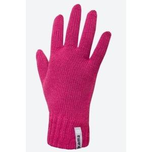 Pletené Merino rukavice Kama R101 114 růžová c862e0df40