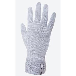Pletené Merino rukavice Kama R102 109 světle šedá