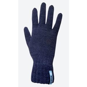 Pletené Merino rukavice Kama R102 108 tmavě modrá