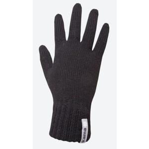 Pletené Merino rukavice Kama R102 110 černá